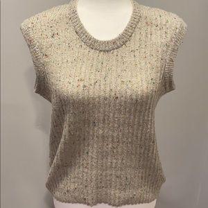Italian Wool Sleeveless Sweater